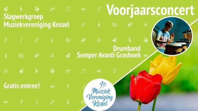 Voorjaarsconcert Slagwerkgroep 14 april